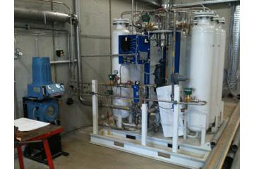 Aufstellungsraum Biogasaufreinigung