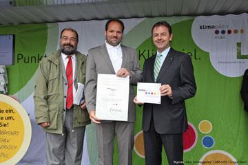 klima:aktiv Verleihung PRESCON GmbH